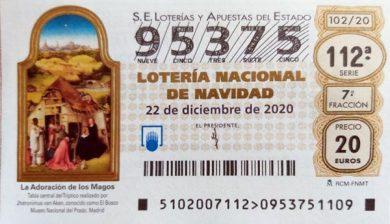 95375 Loteria Navidad Prodean 2020