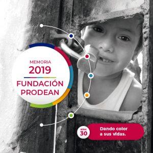 Portada Memoria Fundación Prodean 2019