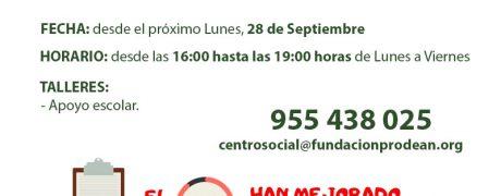 Apertura Centro Social para menores 20020-21