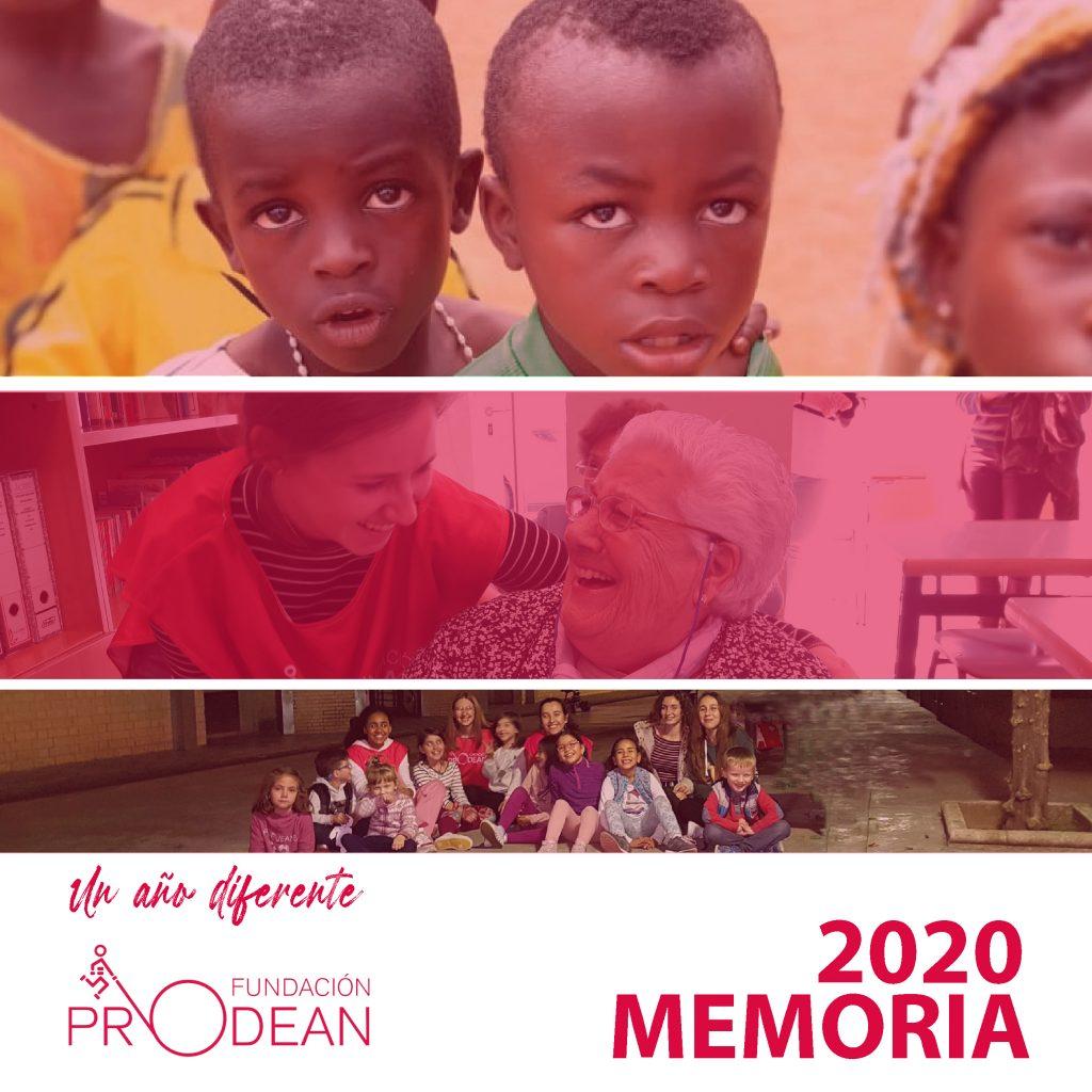 Memoria Fundación Prodean 2020