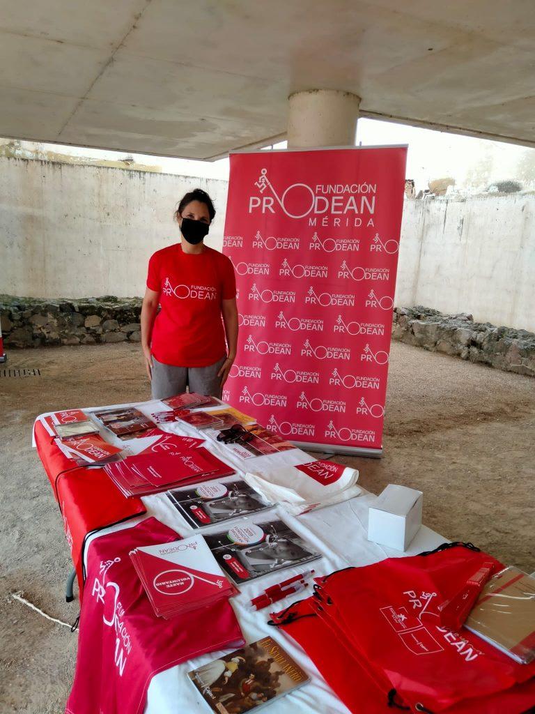 Fundación Prodean en el VIII Encuentro de Solidaridad y Participación Social organizado por la Plataforma del Voluntariado de Mérida